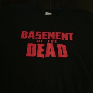 Vintage tee shirt Basement of the dead
